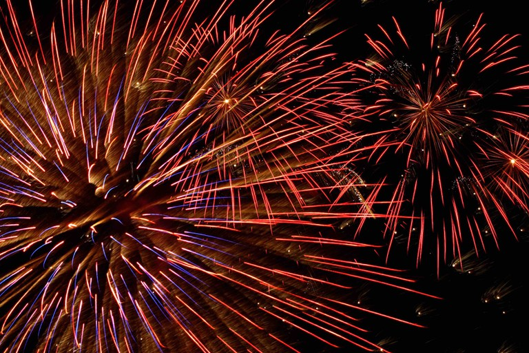 Fireworks | © Paul Morley/StockSnap