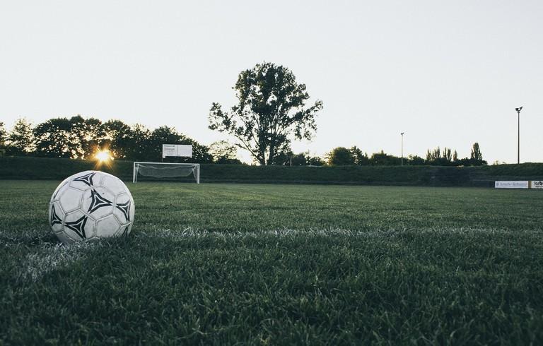 Football pitch │© markusspiske