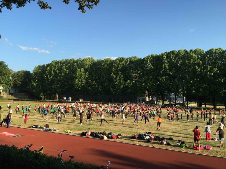 Friskis & Svettis outdoor session l Courtesy of Friskis & Svettis