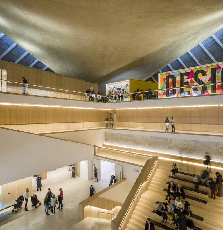 The interior was designed by architect John Pawson