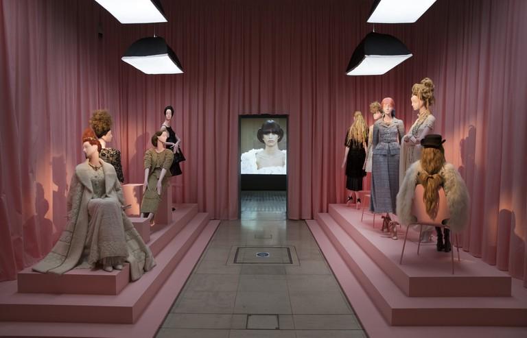 Installation view of 'Hair by Sam McKnight'. Photo: Peter Macdiarmid