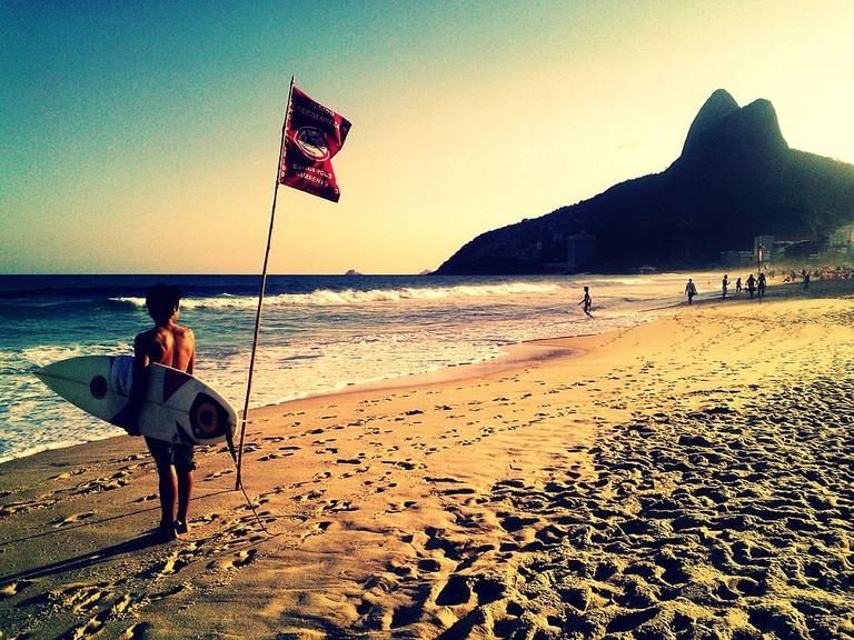Leblon's beach |© Vani Ribeiro/WikiCommons