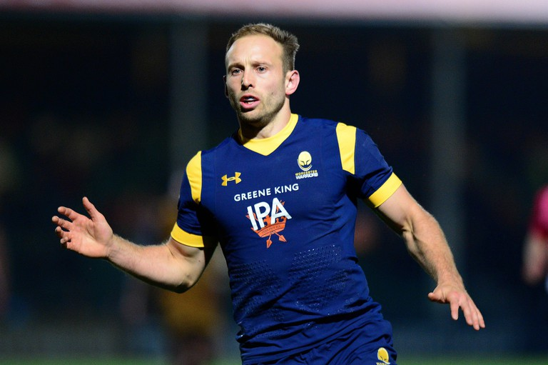 Chris Pennell in action against Bristol © Worcester Warriors