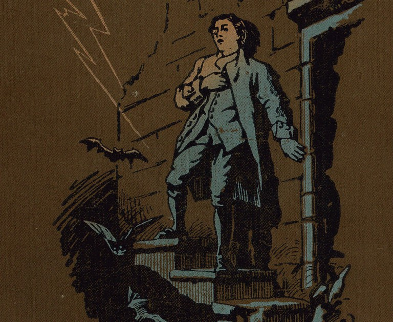 Kidnapped Book Cover | Dr Jekyll And Mr Hyde Poster | Robert Louis Stevenson | Courtesy Of Edinburgh UNESCO City Of Literature Trust