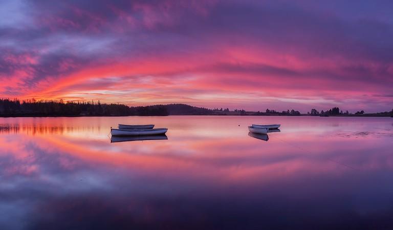 Scottish Loch Sunrise