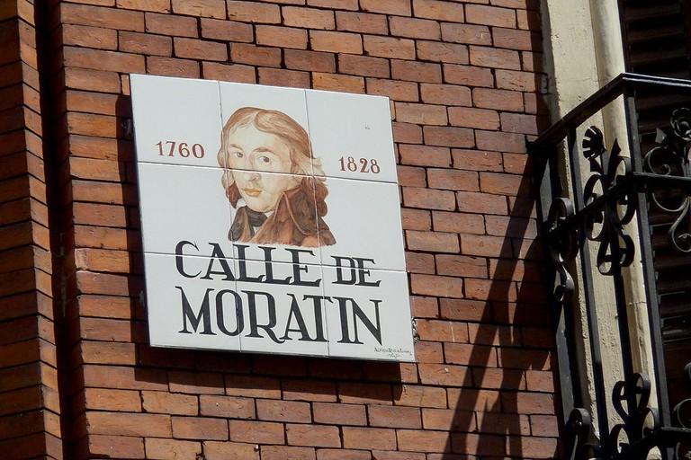 Moratin street in Madrid   © GFreihalter