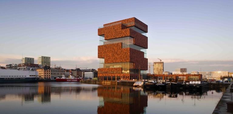 MAS   Sarah Blee, Neutelings Riedijk Architecten/Courtesy of Visit Antwerp