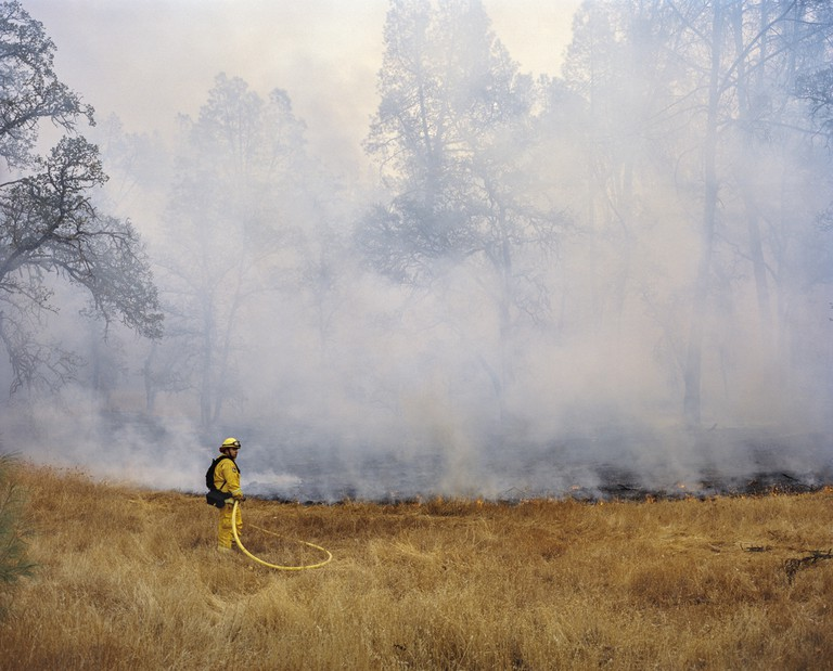 Mustafah Abdulaziz, Southern Lake County fire, California, USA, 2015