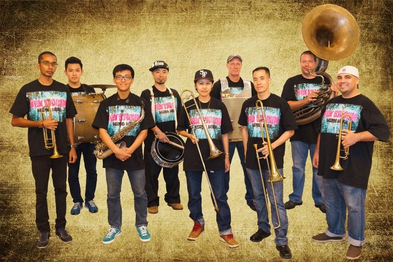 Neon Nooks presents New Stream Brass Band | Courtesy of Neon Lights