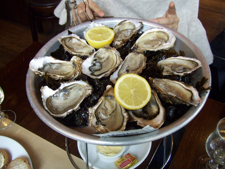Oysters in Paris │© Luc Slosse