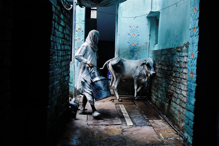 Varanasi, Uttar Pradesh, India © Giannis Papanikos