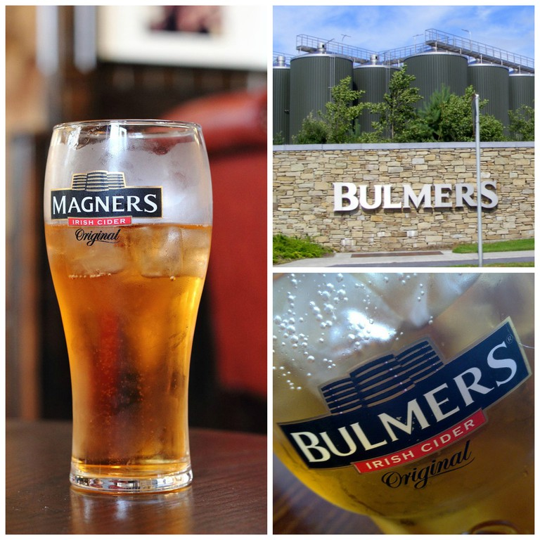 Pint of Magners | © PierreSelim/WikiCommons / Bulmers factory, Clonmel | © Dimod61/WikiCommons / Bulmers | © Stephen Carter/Flickr