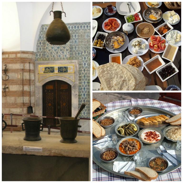 Topkapı Palace Kitchens | © Gryffindor/Wikimedia Commons | Turkish Breakfast | © Tanyel/Wikimedia Commons | Turkish Food | © KayaZaKi/Wikimedia Commons