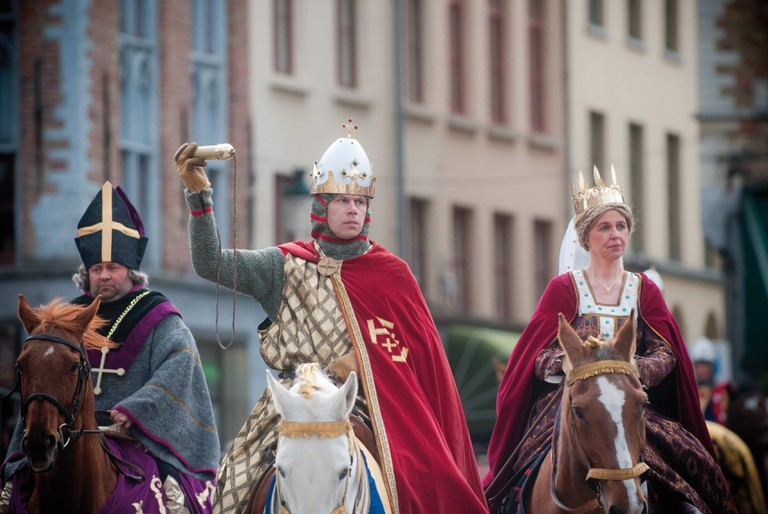 Procession of the Holy Blood | © Jan D'hondt/courtesy of Toerisme Brugge