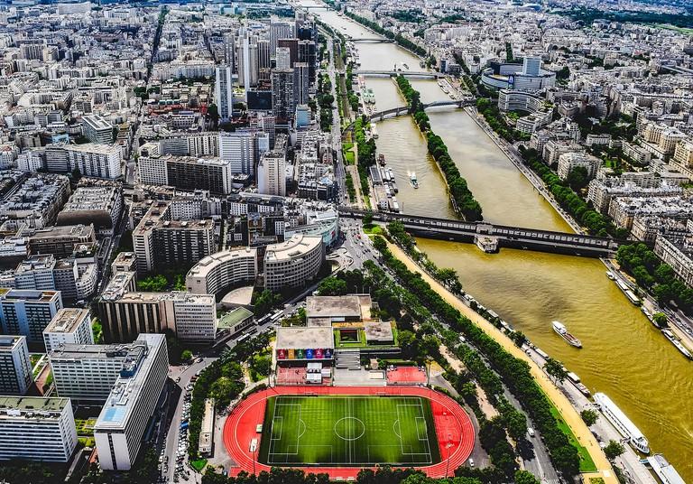 Public stadium in Paris │© tpsdave