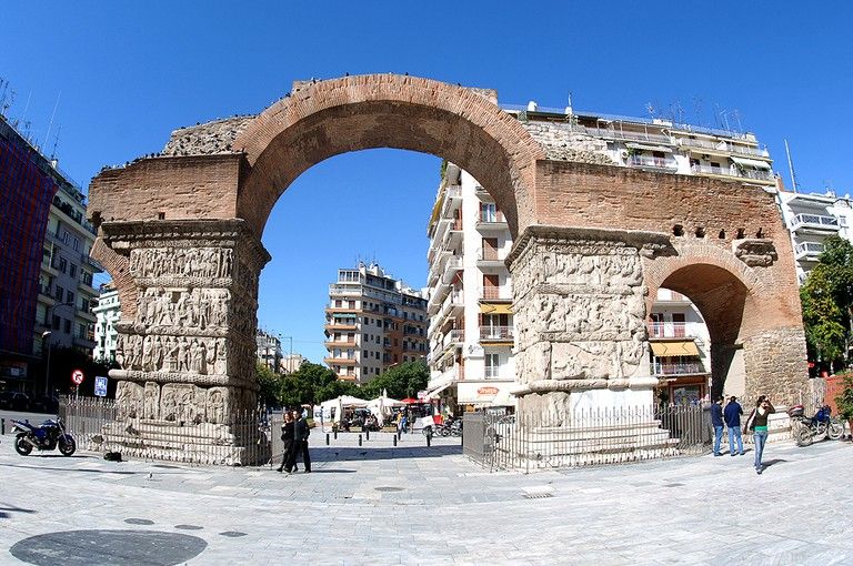 The Arch of Galerius | ©Валерий Дед/WikiCommons