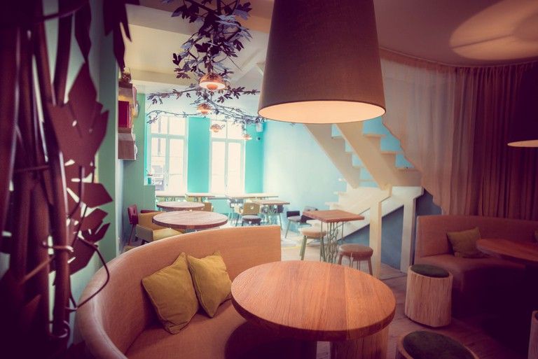 Asian bistro SAN, one of Newplacestobe's latest Brussels recommendations | Courtesy of Newplacestobe