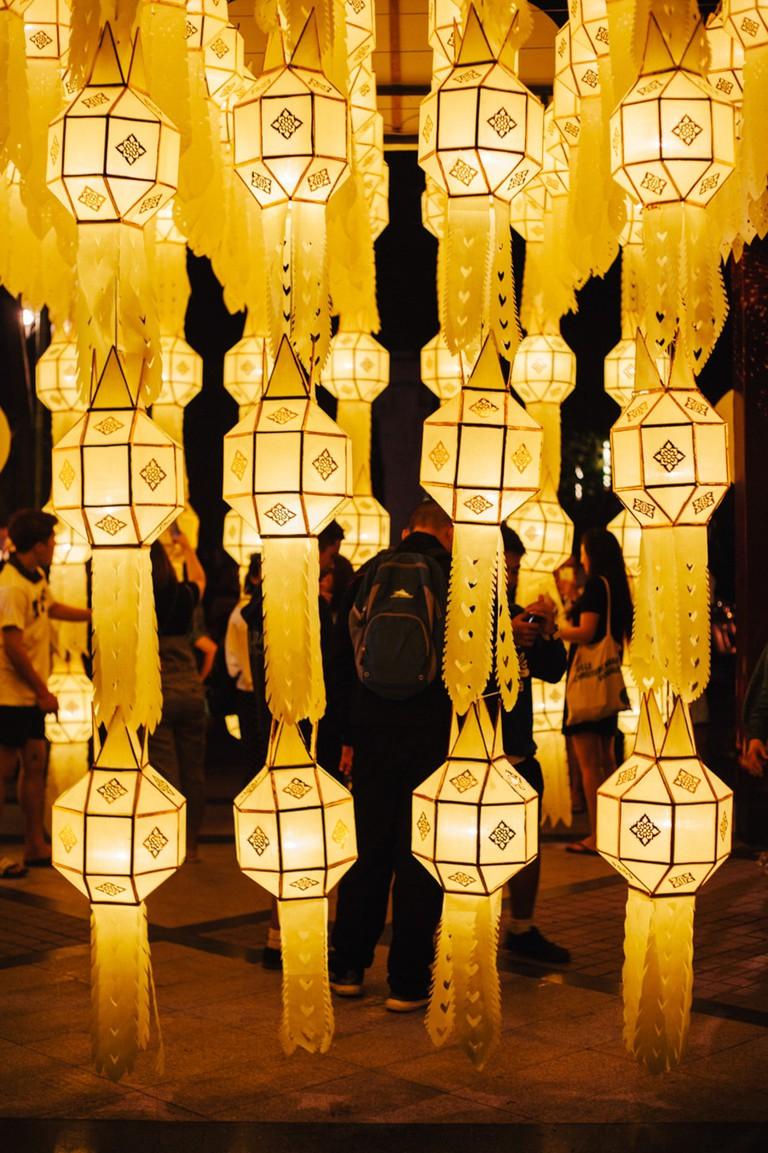 Lantern Festival-Chiange Mai-Thailand