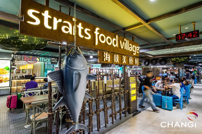 Terminal 2 Straits Food Village | Courtesy of Changi Village