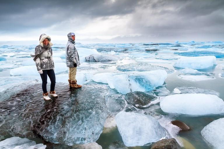 Jokulsarlon in Iceland © Dennis van de Water/Shutterstock