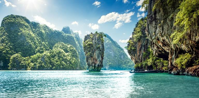 James Bond Island in Phang Nga Bay, Thailand ©Mikolajn / Shutterstock