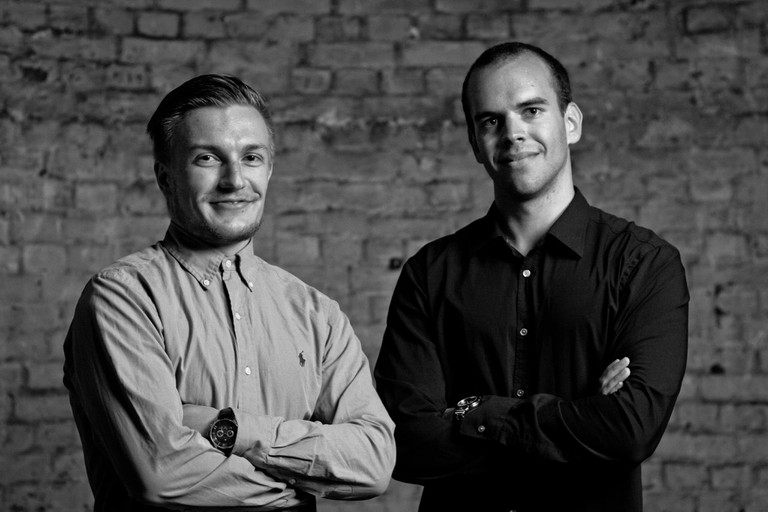 smarp founders Roope Heinilä and Mikael Lauharanta. | Courtesy smarp.