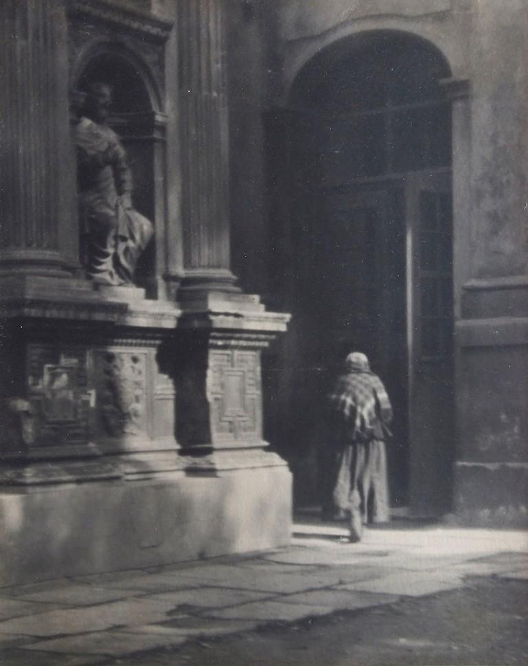 In the church, n.d. by Josef Sudek | Courtesy of Douglas Hyde Gallery