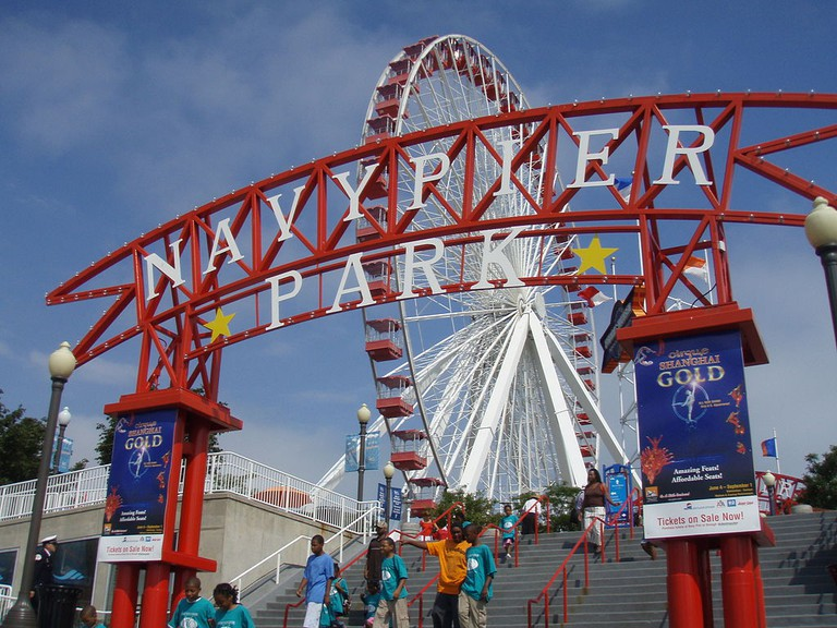 Navy Pier, courtesy of WikiCommons