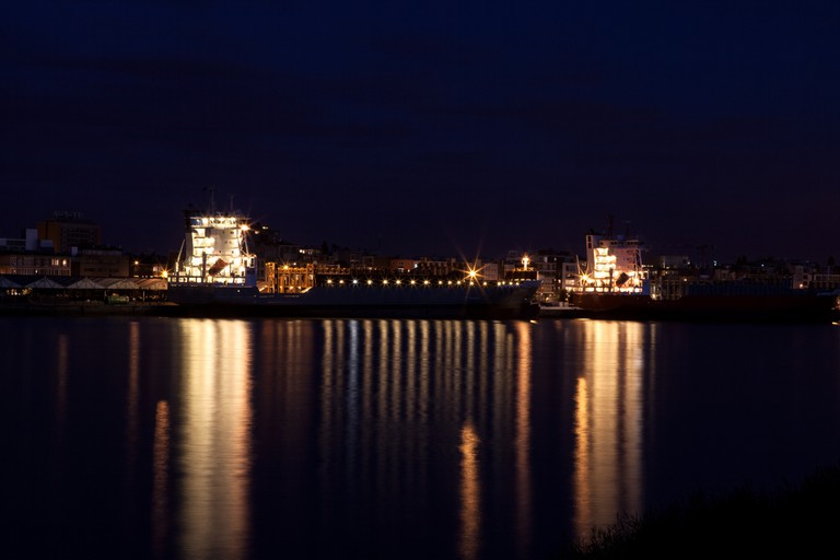The Scheldt at night   © August Bril/Flickr