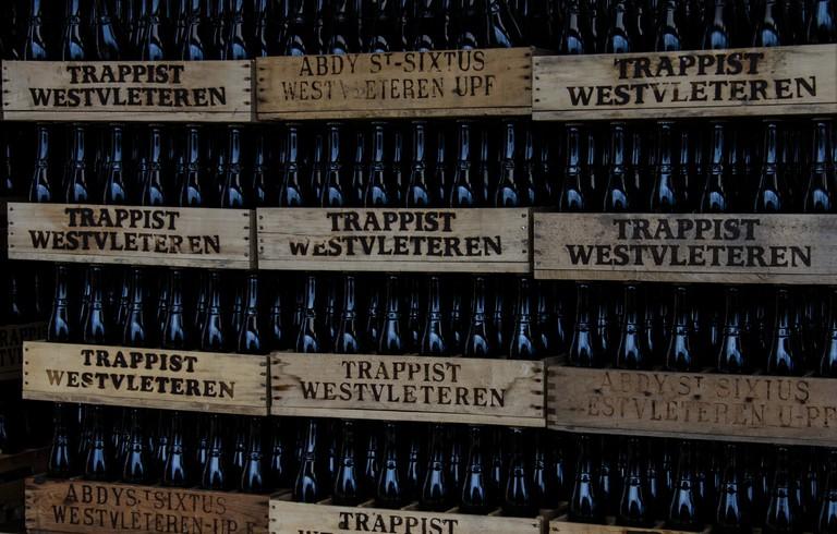 Westvleteren 12 in its signature vintage crates | © Jordan Wilms/Flickr