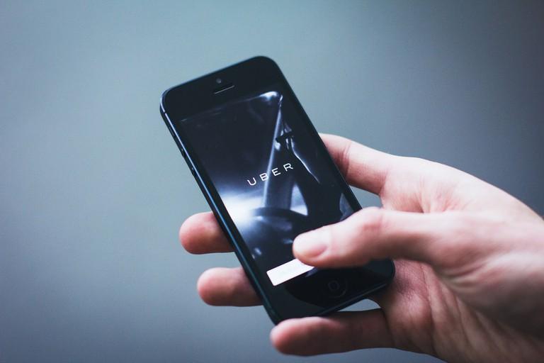 Uber app | © Freestocks.org/Flickr