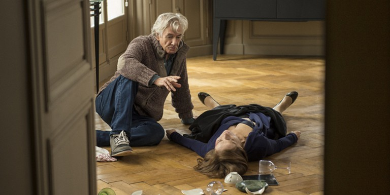 Paul Verhoeven directs Huppert in 'Elle' | © Sony Pictures Classics