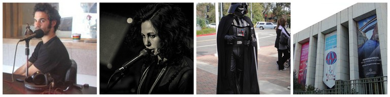 Kutiman   © Kolhacampus/WikiCommons / Michelle Gurevich   © Sofia Camplioni / Star Wars @ the Discovery Science Center - Darth Vader   © The Conmunity - Pop Culture Geek / Athens Concert Hall   © Petros Tatoulis