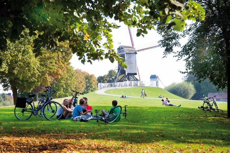 Windmills | © Jan D'Hondt/courtesy of Toerisme Brugge