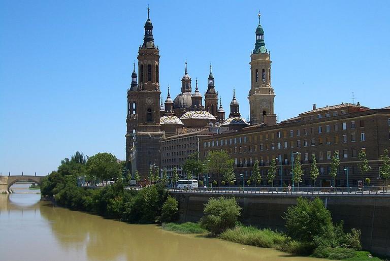 Zaragoza Basilica   ©Vmenkov / Wikimedia Commons