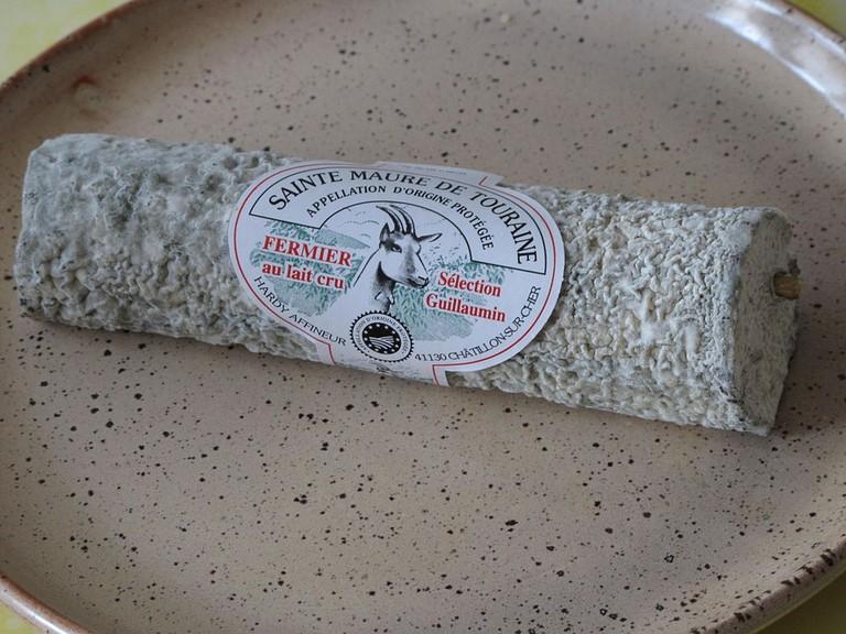 Sainte Maure de Touraine Cheese   Public Domain/WikiCommons