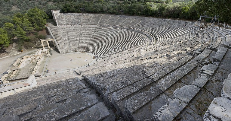 The theatre of Epidaurus
