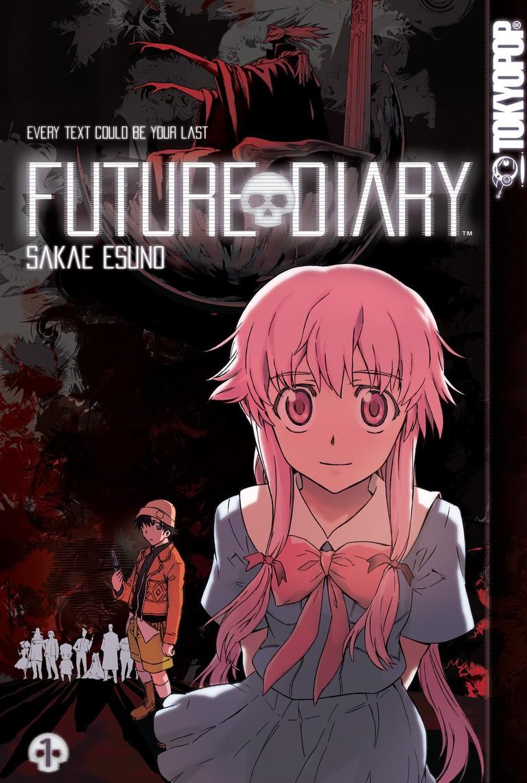 Future Diary by Sakae Esuno, English version | © Kadokawa Shoten (English publisher Viz Media, formerly Tokyopop as pictured)