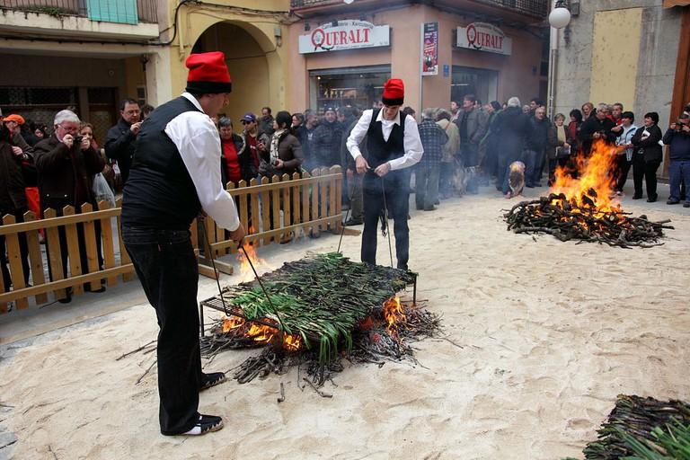 Calçot Festival, Valls, Catalonia