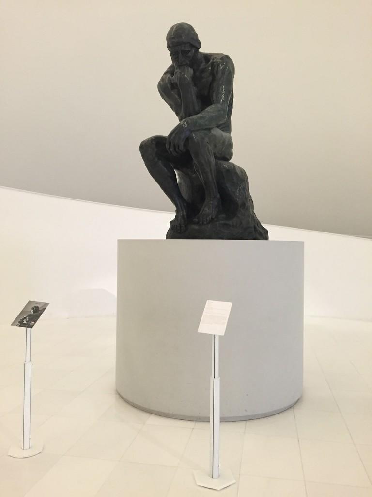 The Thinker, Rodin   © TJ DeGroat/Flickr