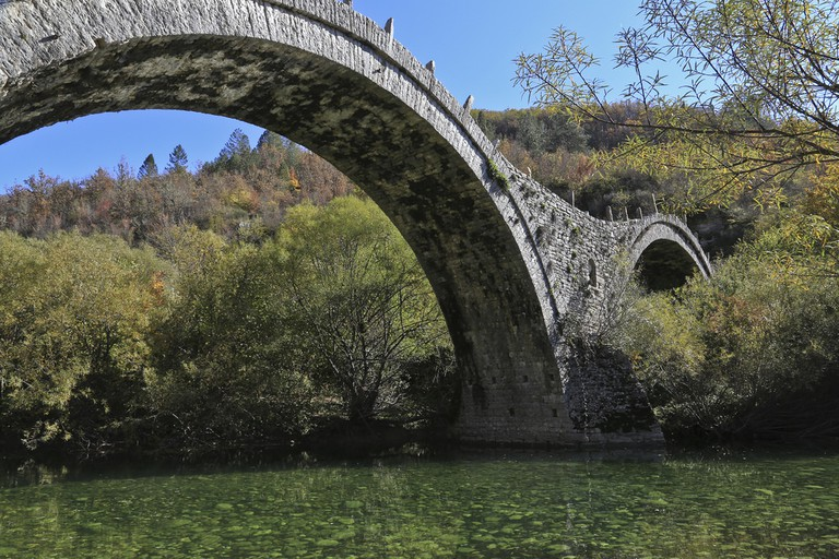 Stone bridge near Monodendri