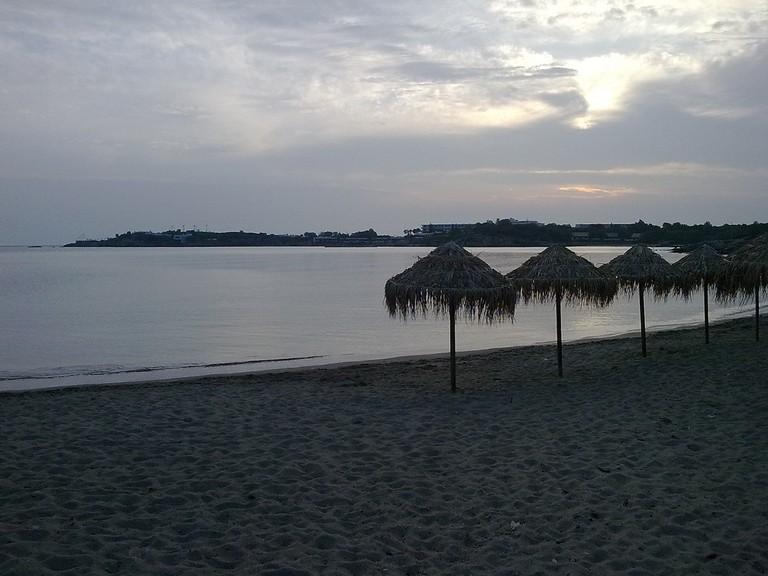 Pefko Beach at sunset | © Ignotus Homo/Flickr