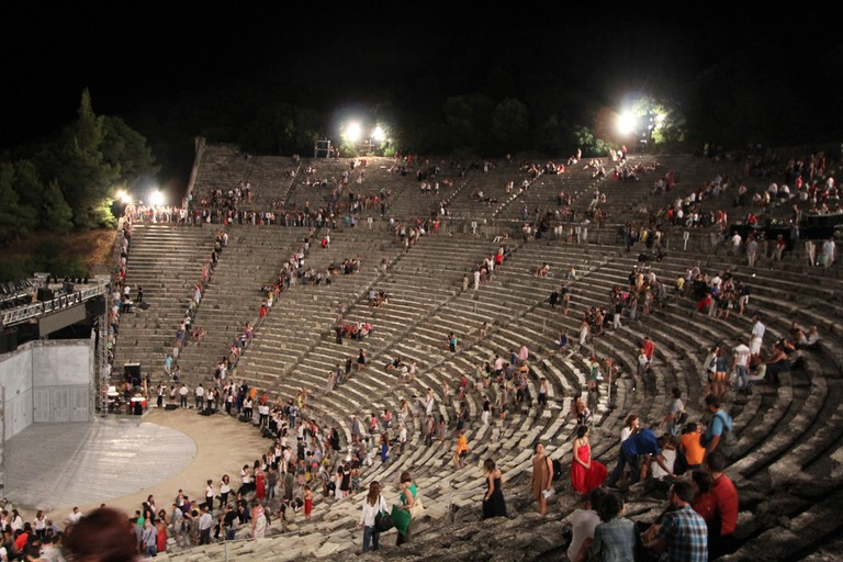 """The Bridge Project presents """"Richard III"""" by William Shakespeare at the Ancient Theatre of Epidaurus"""
