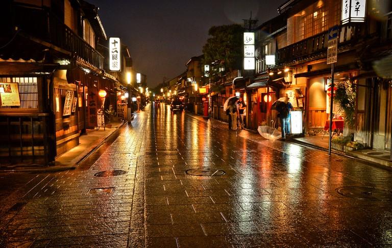 Gion, a historic geisha district | © David Offf/Flickr