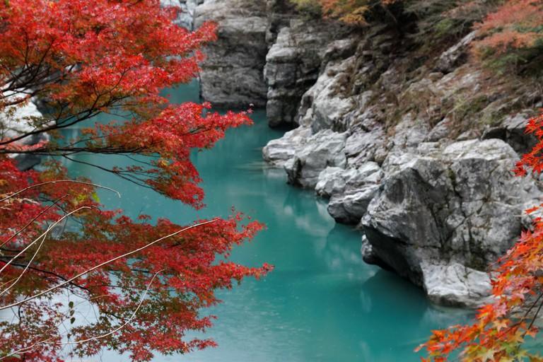 Iya Valley, located in the heart of Shikoku | © Kimon Berlin/Flickr