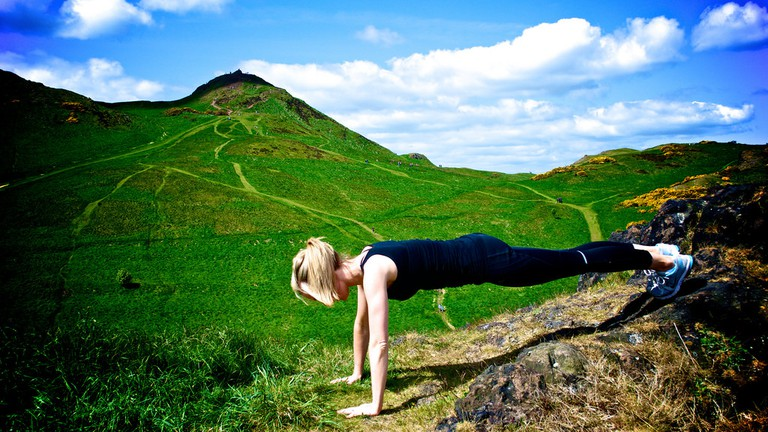 Exercising On Arthur's Seat © Living Fitness/Flickr