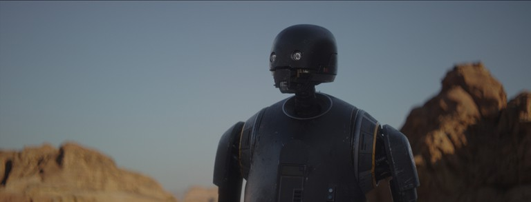Rogue One: A Star Wars Story..K-2SO (Alan Tudyk) |© 2016 Lucasfilm Ltd