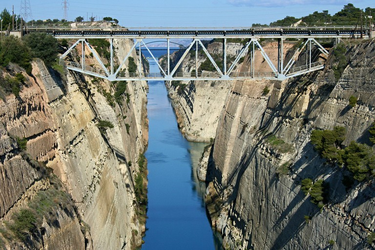 The Corinth Canal |© PixaBay