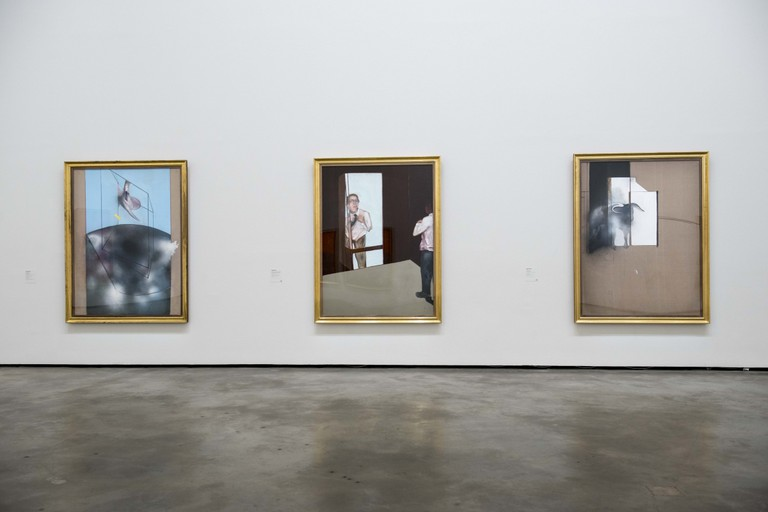 Installation view: Francis Bacon: From Picasso to Velázquez. © Guggenheim Bilbao