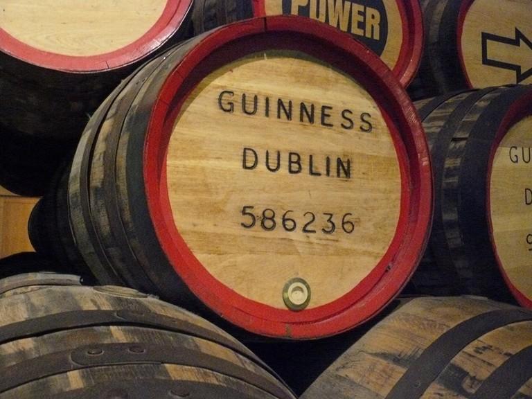 Guinness barrels | © Pixabay